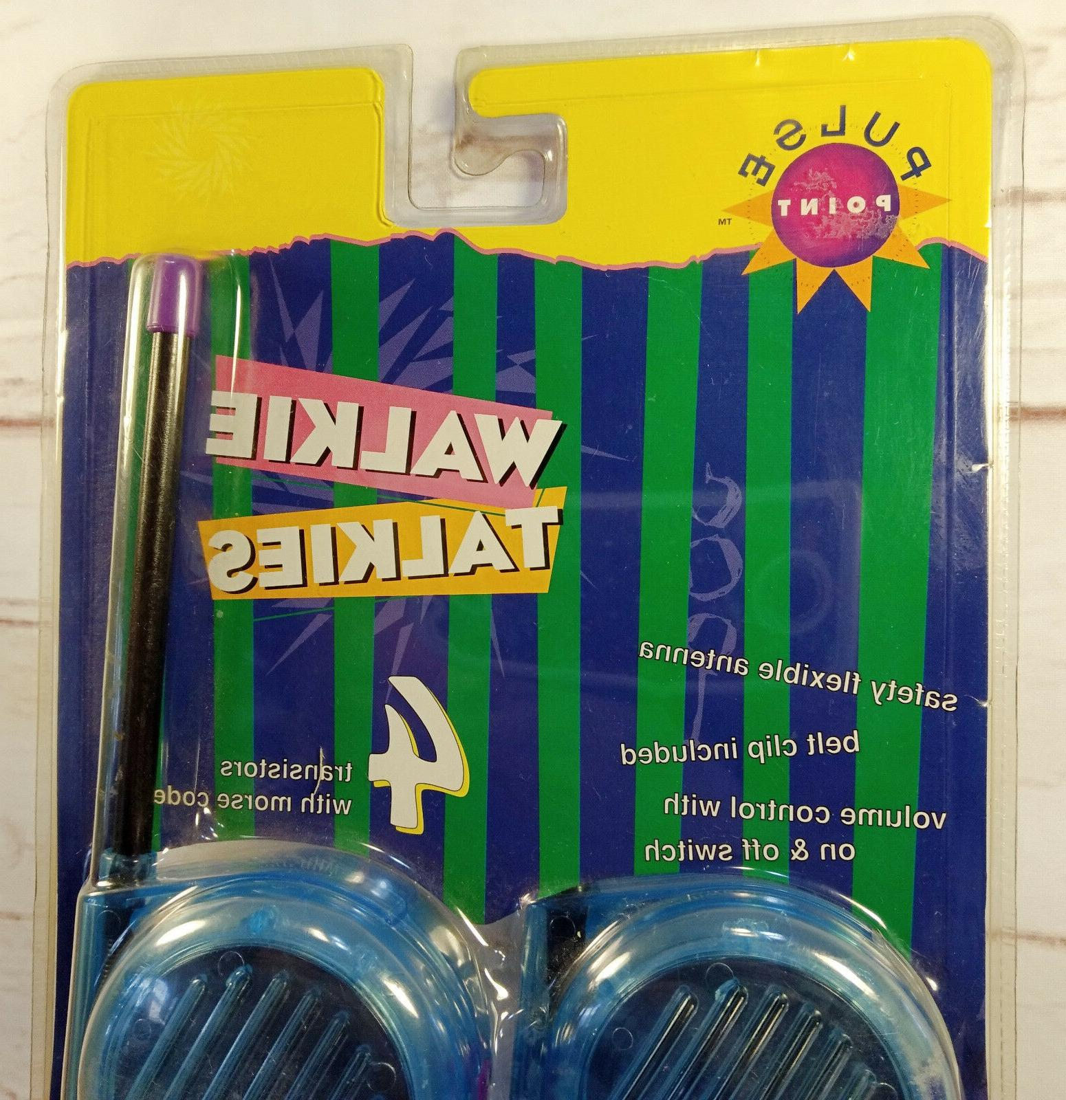 Walkie Talkies with Code Model 94100 Belt Clips Toys