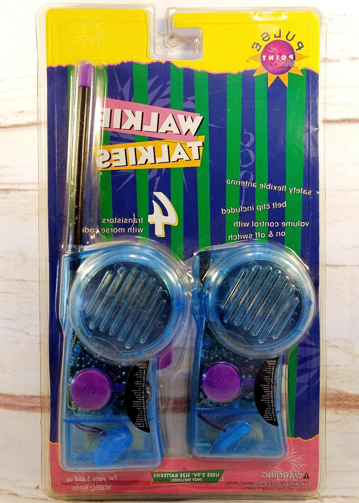 walkie talkies with morse code model 94100