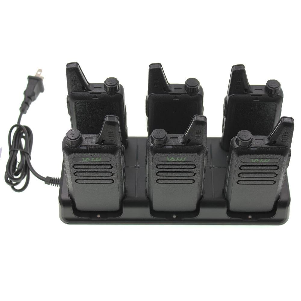 WLN 6 In Way Unit Two Way Radio Six Way <font><b>Charger</b></font>