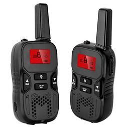 Long Range Rechargeable Walkie Talkies for Kids Radios, Buil