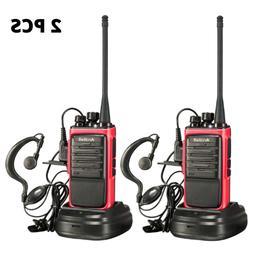 Long Range Walkie Talkie 2 Set 50 Mile Two Way Radio Charge