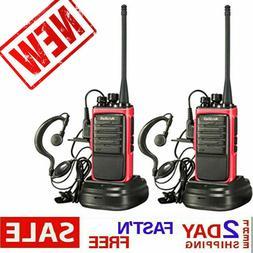 Long Range Walkie Talkie 2 Set 50Mile Two Way Radio Charge H