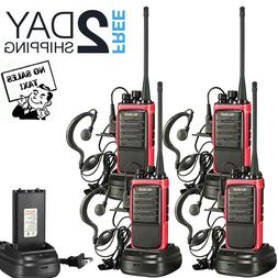 Long Range Walkie Talkie 4 Set 50 Mile Two Way Radio Charge