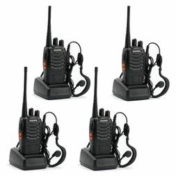 Long Range Walkie Talkie 4 Set 50 Mile Two Way Radio Charge