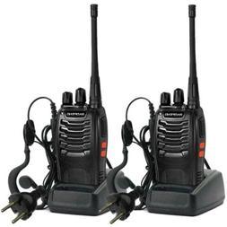 Long Range Walkie Talkie 2 Set 10Miles+ Two Way Radio Charge