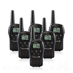 6-Pack Midland LXT500VP3 Two Way Radio, Rechargeable Batteri