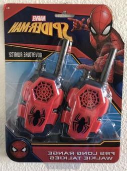 Marvel Spiderman FRS Long Range Walkie Talkies - NEW - FREE