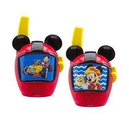 Mickey and The Roadster Racers Walkie Talkies for Kids Stati