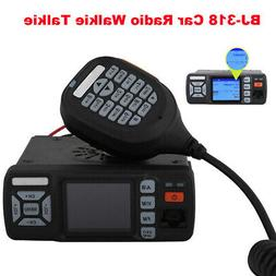 Mini Car Mobile Radio Walkie Talkie VHF UHF 400-480MHz Trans