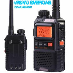 MINI Baofeng UV-3R+Plus Walkie Talkies Dual band UHF/VHF Ham