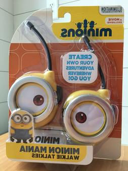Minion Mania Battery Operated Walkie Talkies with Push to Ta