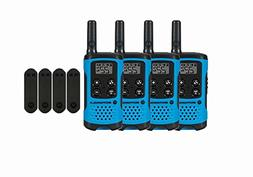 Motorola T100 Two-Way Radios / Walkie Talkies 4-PACK