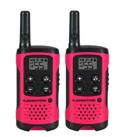 Motorola Talkabout T107 Walkie Talkie 2 Pack Set 16 Mile Two