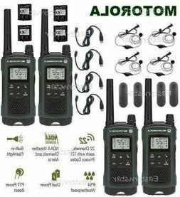 Motorola Talkabout T465 Walkie Talkie 4 Pack 35 Mile Two Way