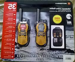 Motorola MT351R 2-Pack Talkabout Weatherproof 2-way Radios W
