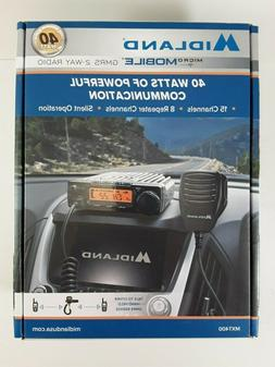 Midland MXT400 MicroMobile Two Way Radio 40W 22 GMRS Channel