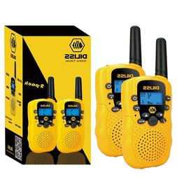 NEW 2-Pack Toy Walkie Talkies for Kids Voice Activated 3 Mil