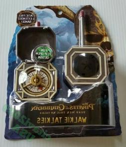 NEW DISNEY PIRATES OF THE CARABBEAN COMPASS DESIGN WALKIE TA
