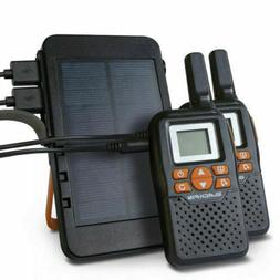 NEW BlackFin Walkie Talkie SolarPower Kit, Recharge Batterie