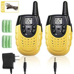 OUREAL Rechargeable Kids Walkie Talkies Toys Long Distance 2
