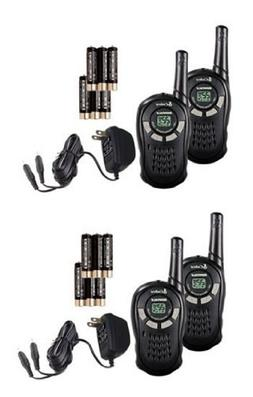 PAIR COBRA CXT135 MicroTalk 16 Mile 22 Channel Walkie Talki
