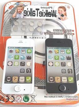 Lollipop Toys Phone Walkie Talkies with Included Batteries N