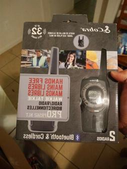 Cobra PR562BLT Pro Series 28-Mile Bluetooth Walkie Talkie Ra