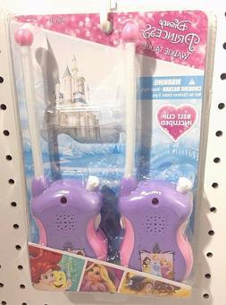 Disney Princess Walkie Talkies Set Cinderella Rapunzel Ariel