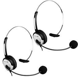 Arama PTT MIC Headphone Headset w/Adjustable Band for Midlan