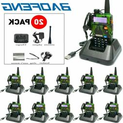 Baofeng UV-5R Walkie Talkie Headset VHF UHF Ham Portable 2-