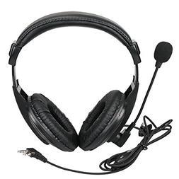 Retevis Walkie Talkie Earpiece Boom Mic Overhead Headphone w