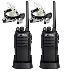 Retevis R888s plus Walkie Talkie UHF 400-470MHz 3W FM CTCSS/