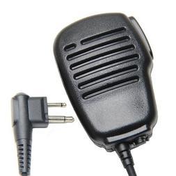 Rainproof 2-Pin Shoulder Remote Speaker Mic Microphone PTT F