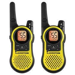 Motorola 23-Mile Range 22-Channel FRS/GMRS Two-Way Radio, Ha