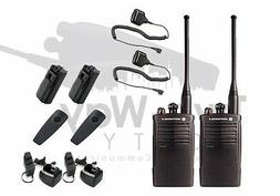 Motorola RDU4100 UHF Two-Way Radio Walkie Talkies with Speak