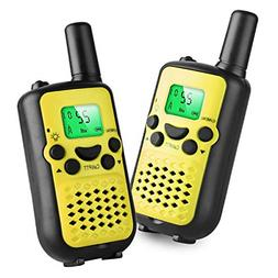 Real Walkie Talkies for Kids Birthday Gift for 3-10 Year Old