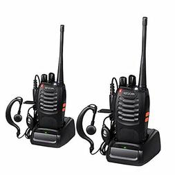 Proster Rechargeable 16 Channel Walkie Talkie with Earpiece