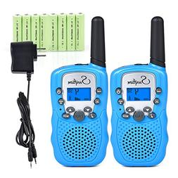 Swiftion Rechargeable Kids Walkie Talkies 22 Channel 0.5W FR