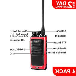 Rechargeable Long Range 2-Way Radio Handheld Walkie Talkie w