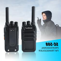 Rechargeable Two-Way Radios UHF Radio 400-470Mhz Mini Walkie