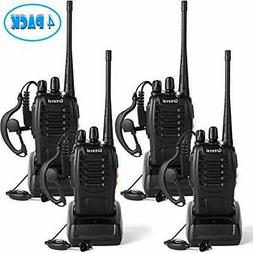 Greaval Rechargeable Walkie Talkies 4 Pack Long Range 2 Way