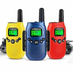 Qianghong Rechargeable Walkie Talkies for Kids Included Li-i