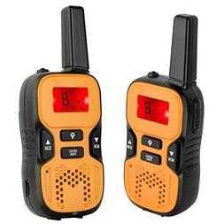 Kids Rechargeable Walkie Talkies 2 Way Radios 22 Channels an