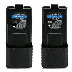 Baofeng Replacement Battery 7.4V 3800mAh for Walkie Talkies