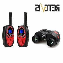 Retevis RT628 Kids Walkie Talkies+Binocular for  Boys/Girls