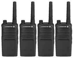 4 Pack of Motorola RMU2040 Two way Radio Walkie Talkies