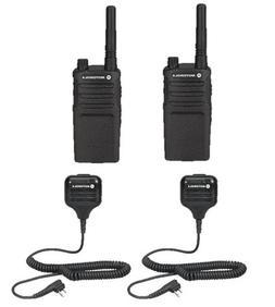 2 Pack Motorola RMU2080 Radios with Speaker Mics