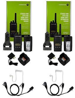 QTY 2 Motorola RMU2080D UHF 2 watt 8 channel radio with disp