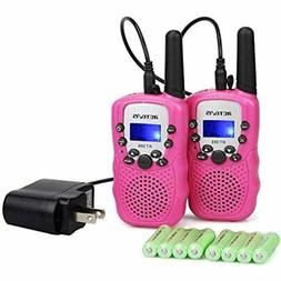 Retevis RT-388 Kids Walkie Talkies Rechargeable 22CH Girls T