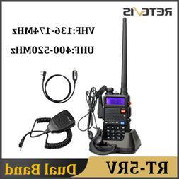 Retevis RT-5R UHF/VHF 5W 128CH Monitor VOX Scan Alarm Walkie